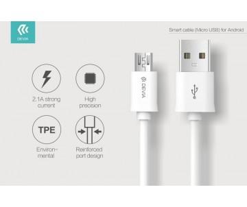 Cavo Devia Smart Micro USB per Android