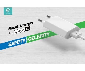 Carica Batterie USB 1 A. In 110/220 Volt Con Protezione